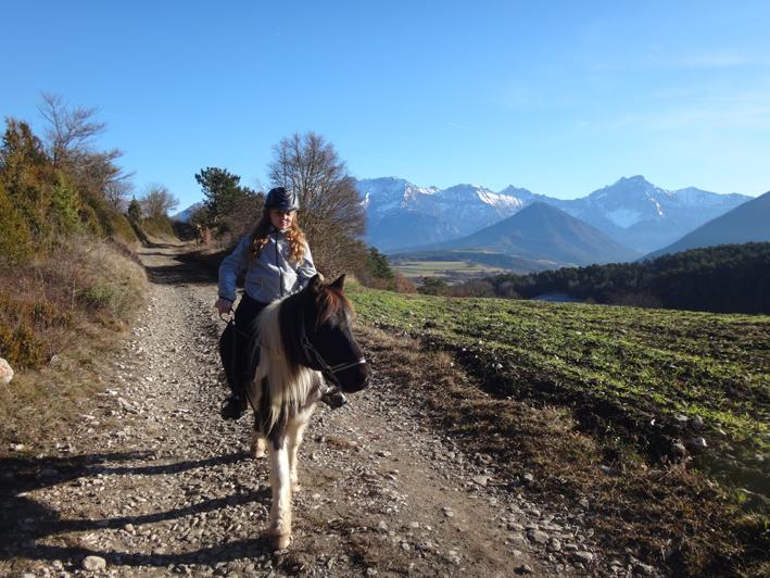 Sur le chemin du Serrya